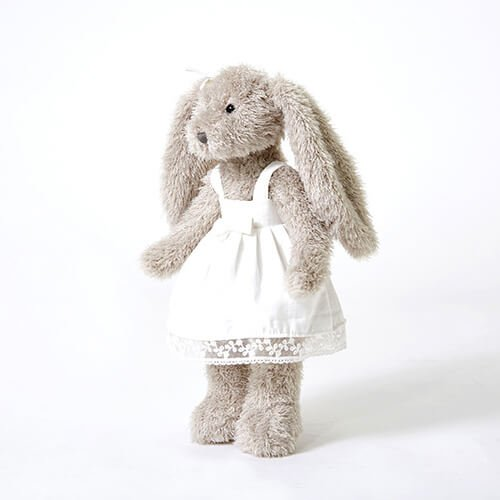 rabbit with skirt