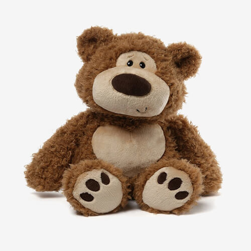 Plush Design Custom Brown Teddy Bear