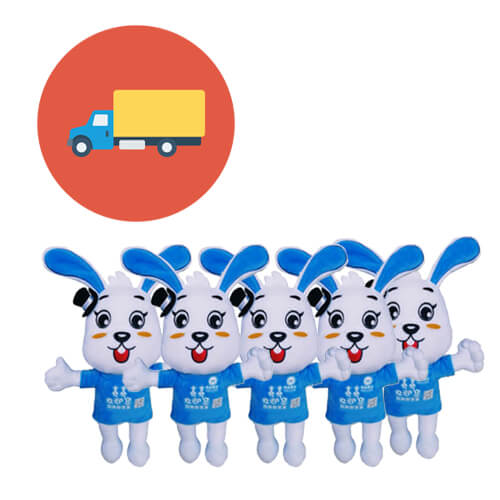 Custom plush toys production and delivery