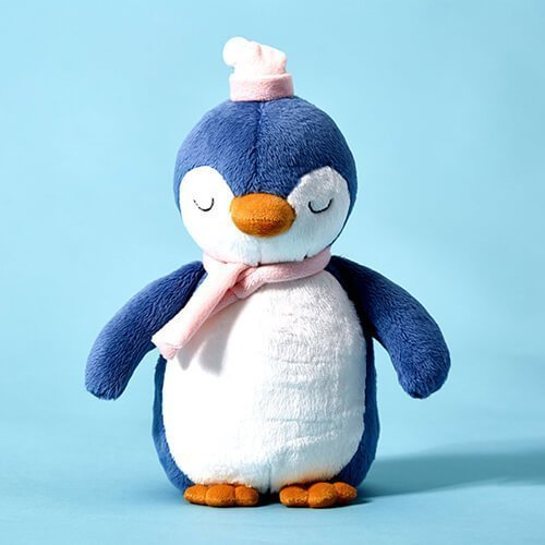 Plush penguin toys