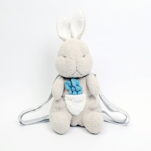 plush rabbit bags