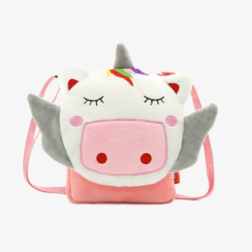 plush unicorn handbags kids bags