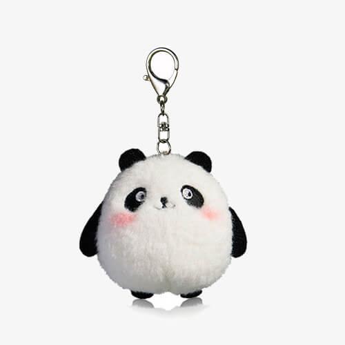 plush panda keychain toys