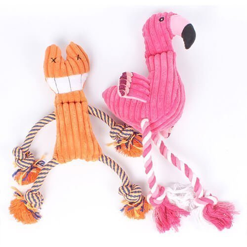 Plush pet dogs toy