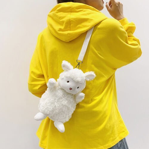 girl plush handbags cute stuffed bags