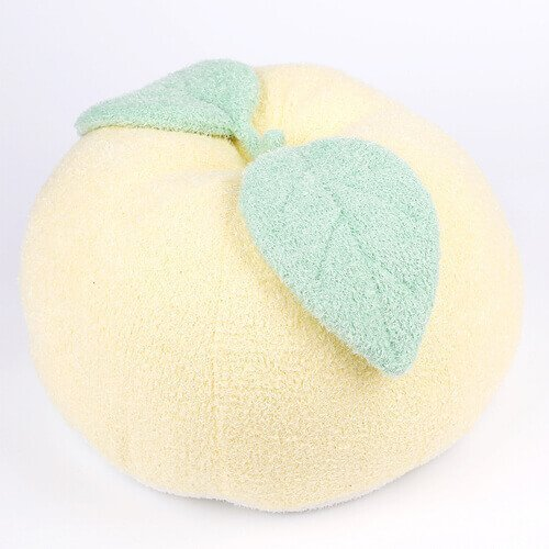 plush apple pillow
